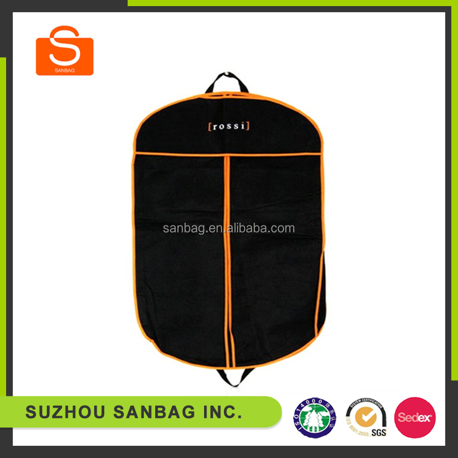 High quality hair garment bag,suit cover,dress cover