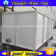 Hot selling combined water storage tanks/sectional frp panel tank/grp foldable water tank