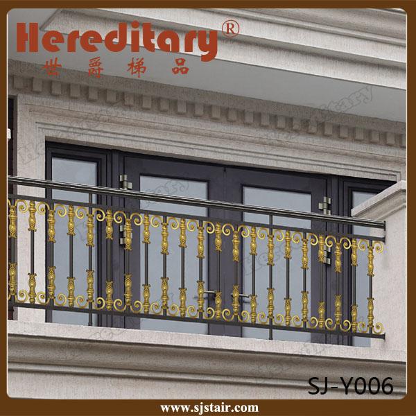 Prefabricated Aluminum Balcony Handrail Fence Balcony