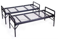 hot sale cheap easy assembly latest military metal bed frame