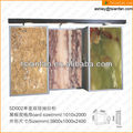 SD002 marble antique wood display case