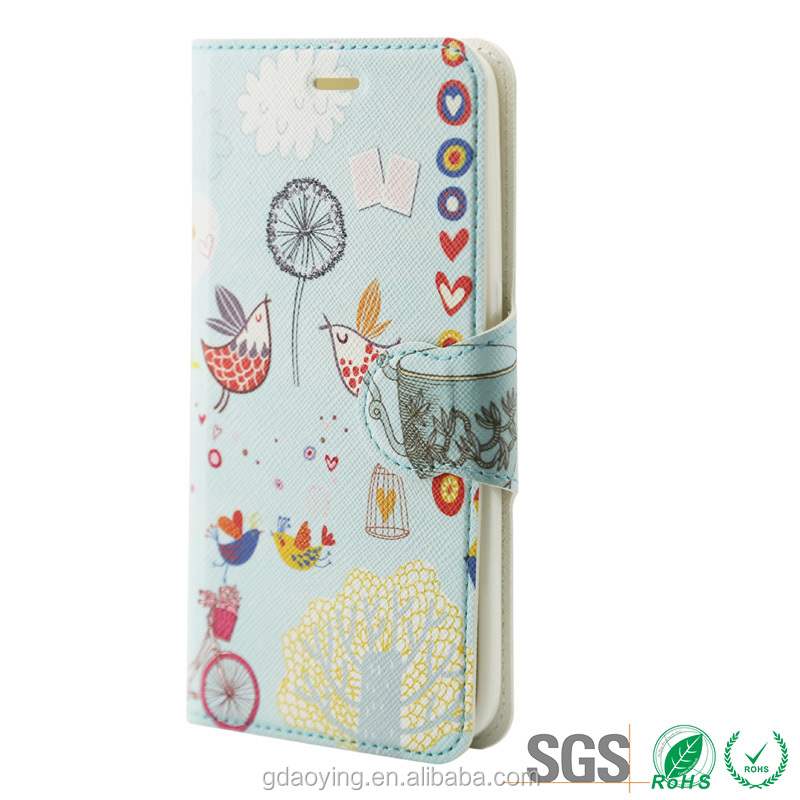 frame luxury 3d sublimation mobile phone case printing leather cover For Samsung