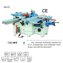 wood combined machine ML410 for 400 mm working width Planer,thicknesser,sawing ,mortiser-driller,profiling,moulder