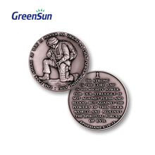 Customized Design Metal Novelty Cheap Custom Token Coin