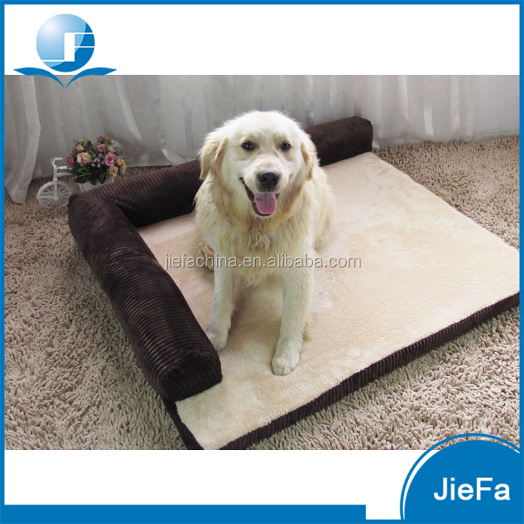 Customized Design Multiple Sizes Luxury Pet Bed Dog Bed Orthopedic Dog Sofa
