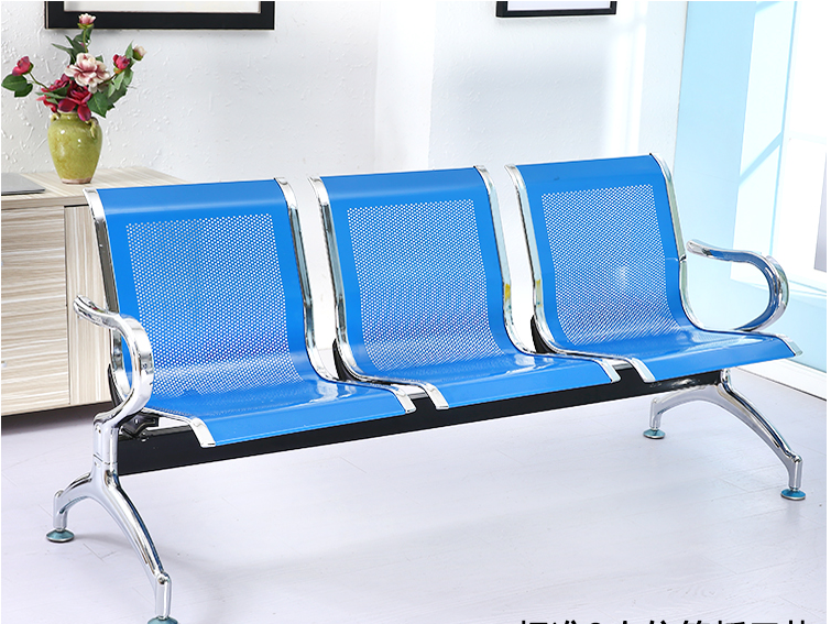 OC-143 Public Use 3-seater Waiting Chairs Airport Bank Waiting Chairs For Sale
