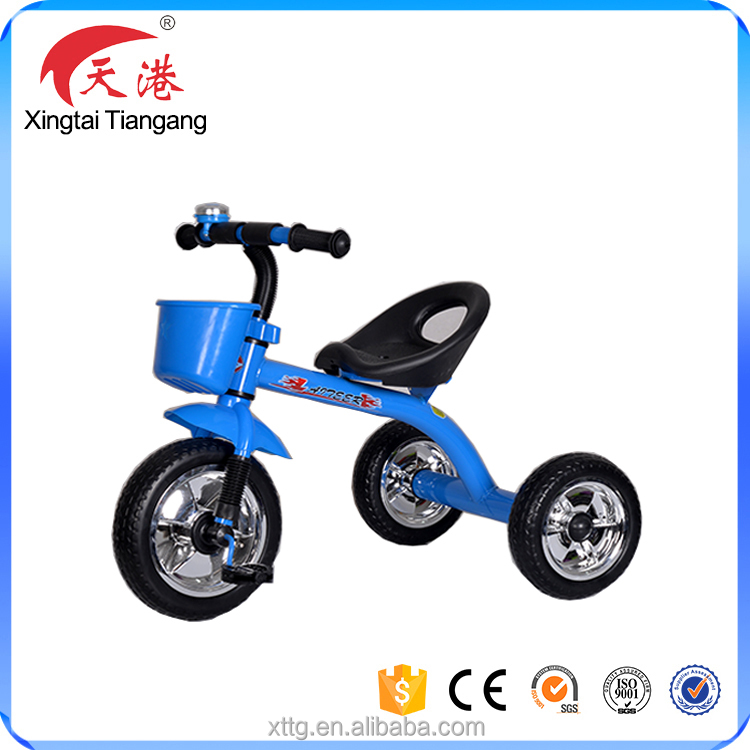2017 cheap baby tricycle kids ride on car style toys with comfortable seat
