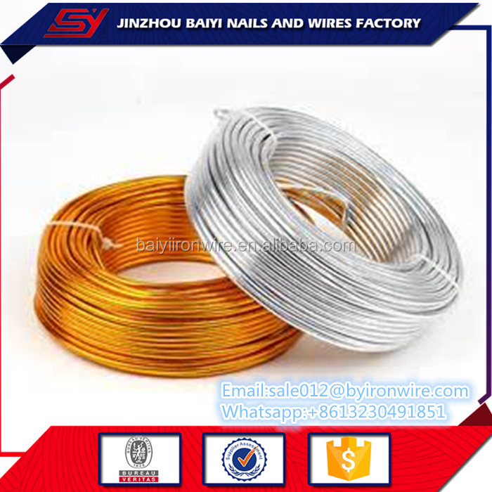 Colored Jewelry Anodized Soft Metal Wire