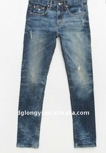 cotton boy's denim jeans pants fabric 2012