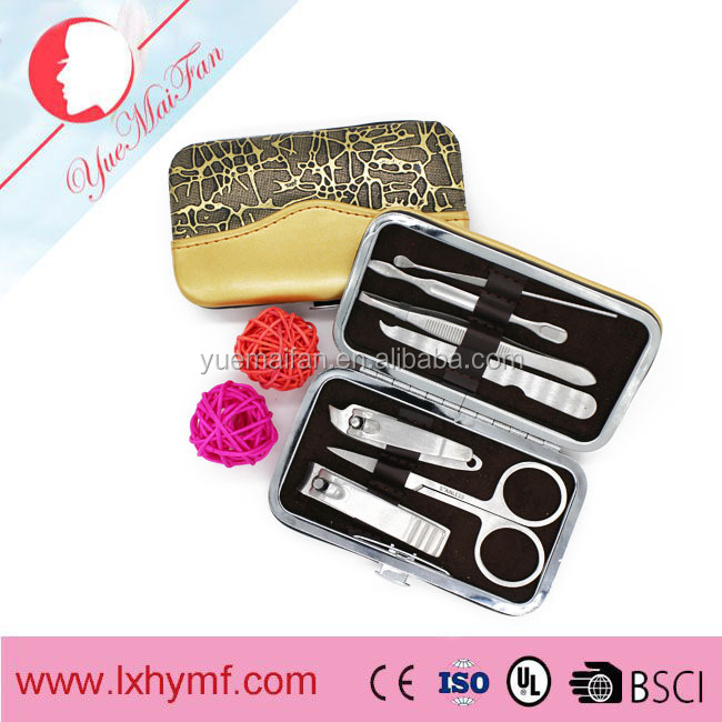 Nail Care Manicure Pedicure Professional Cuticle Clippers Tool Kit