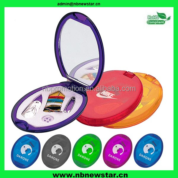 NSS006 promotion travel plastic compact sewing kit