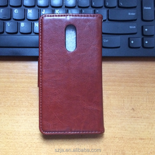 Leather Cell Phone Case for lenovo K6 note Card slot Holders Flip Cover for lenovo k6 note