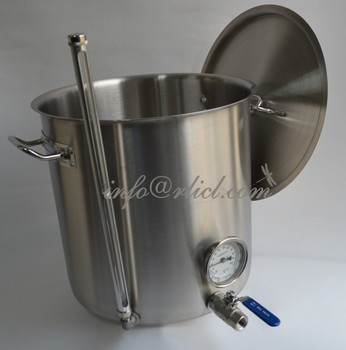 Heavy Duty Stainless Steel Stock Pot, brew kettle, Homebrew