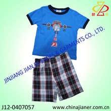 kids clothes sets manufacturer korean children clothing new fashion clothes for boys
