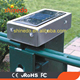 New design stainless steel solar post cap lamp