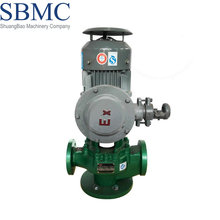 High efficiency PTFE lining electric vertical multistage pump