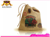 first rate printed jute bag for promotion