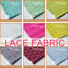 100% poly africa lace Y/D lurex lace fabric