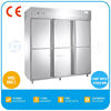 2014 TWOTHOUSAND HOT Reach In Refrigerator With CE TT-VCFR1480L6K Double Temperature Refrigerator Freezer Price