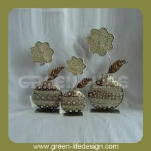 Decoration metal flowers for crafts