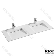 solid surface modern apron sink double