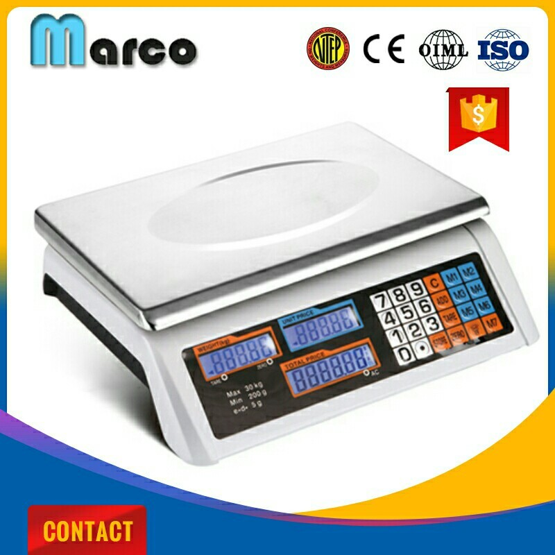yiwu marketing weight scale mat computing scale