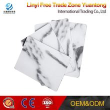 Pvdf Aluminium Composite Panels/Outdoor Use Wall Cladding/Marble Finish Alucobond Prices