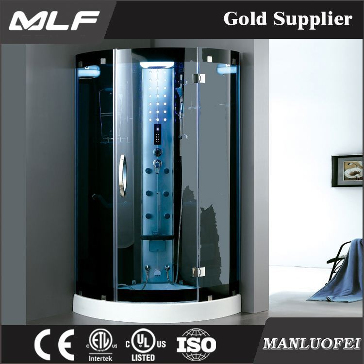 MLF-D7039 European style comfortable hydro massage whirlpool steam shower room