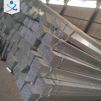 Concise design circular hollow section galvanized square rectangular tube