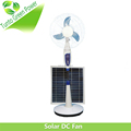 Rated voltage 100V-240V 18v15w solar powered fan