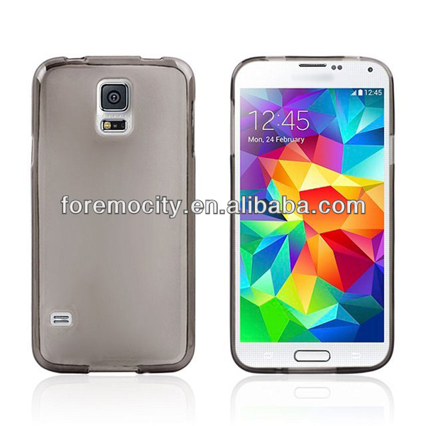 TPU matte Clear case for galaxy s5