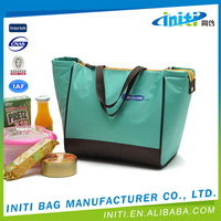 Wholesale high quality foldable champagne bottle cooler bag