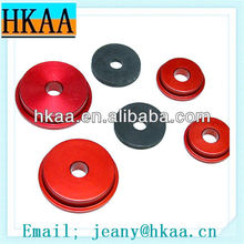 Aluminum Grinding Color Anodize Rack Spacer CNC Turning Parts