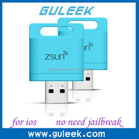 Portable WIFI SD Card Reader Colorful 150Mbps Smart Card Reader USB2.0 Card Reader