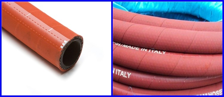 High quality high temperature flexible rubber steam hose