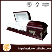 LAST SUPPER American sytle caskets and coffin casket trolley supplier