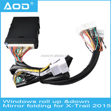 Hot selling power window closer AOD promotional automatic closing/opening side mirrors for X-Trail 2015