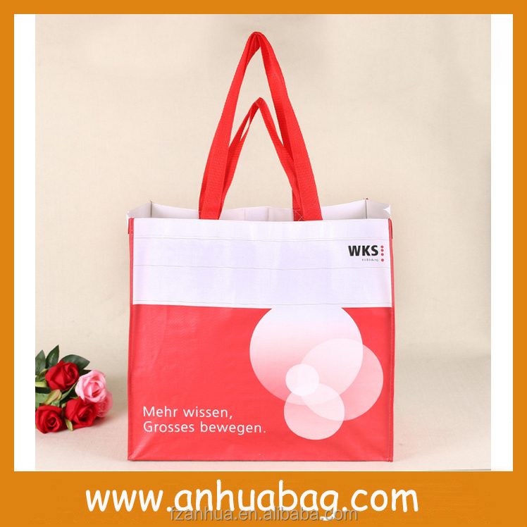 Topest Cheap Recycled PP Woven Shopping Bags