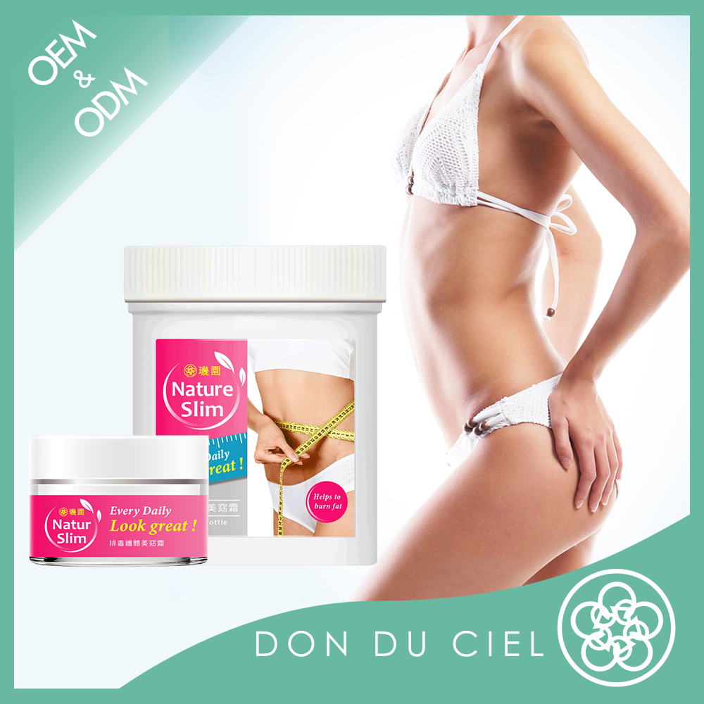 Body slim herbal belly fat removal cream for slimming products
