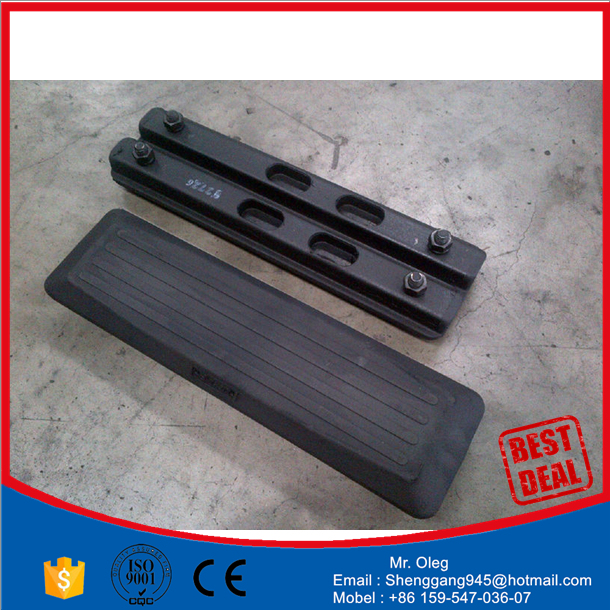 your excavator snowmobile rubber track EX15.1 track rubber pad 230x96x31
