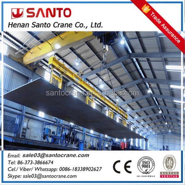 Factory direct supply low cost hoist overhead bridge crane 5t with high quality