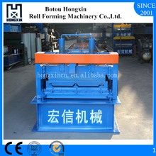 Hebei Portable Galvanized Profile Standing Seam Roof Tile Roll Forming Machine for Sale