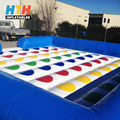 Brand New Giant Custom Inflatable Meltdown Twister game for Adults