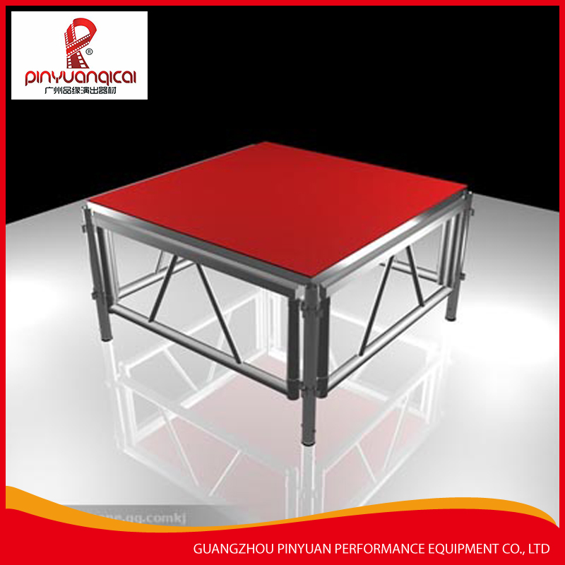 High quality Aluminum frame stage platform