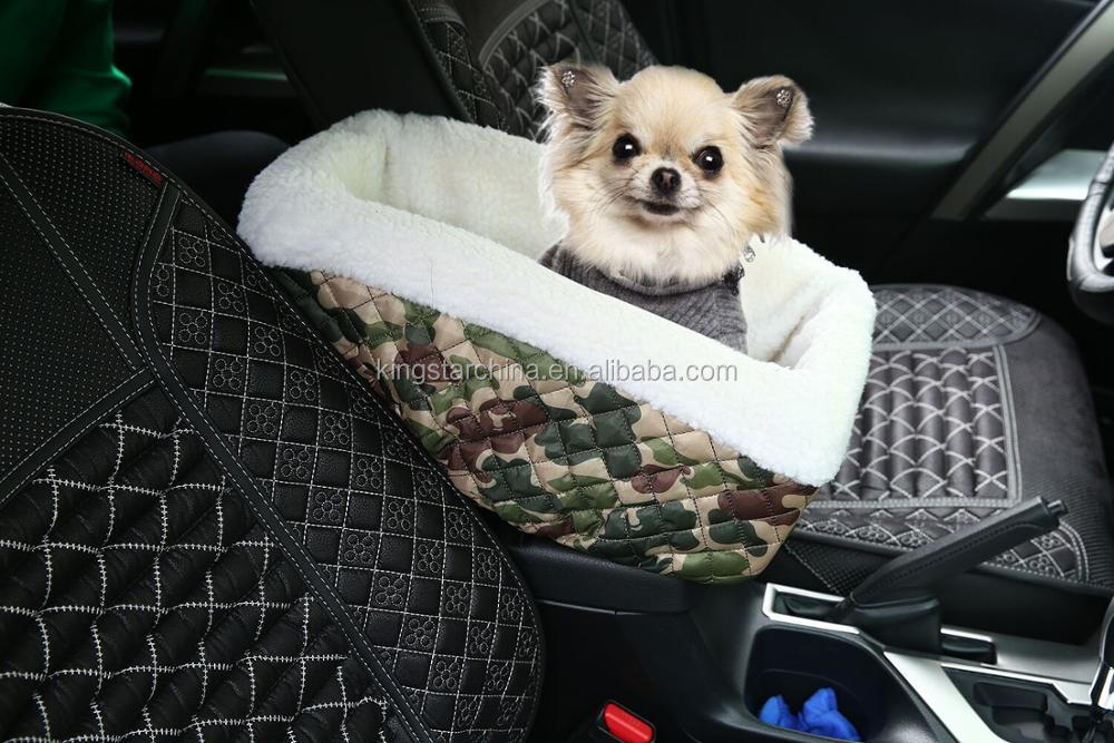 Deluxe Quilted and Padded seat cover with Non-Slip Fabric in Seat Area for Pets - One Size Fits All Car&Truck