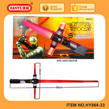 Kids best gift toys plastic laser sword with light up and sound