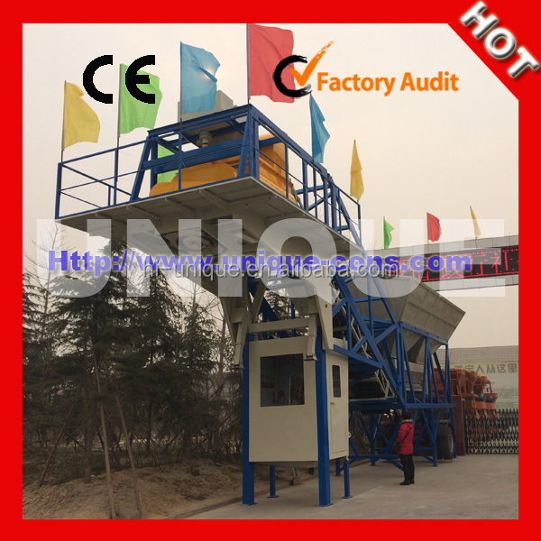 UNIQUE Brand UTM60 Mobile Concrete Mixing Plant Machine