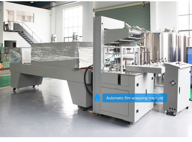 Automatic Water Bottles Shrink Packing Machine