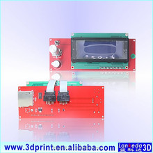 2004 LCD Display 3D Printer Controller board With Adapter RAMPS 1.4 Reprap Mendel