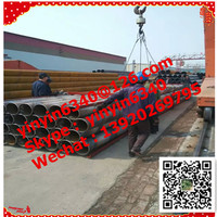 China supplier manufacture First Grade lsaw ssaw steel pipe x60 x65 x70